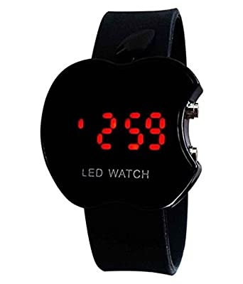 31e192f55 Buy Exotica Black Apple Led Digital Watch for Boys-for Boys Online at Low  Prices in India - Amazon.in