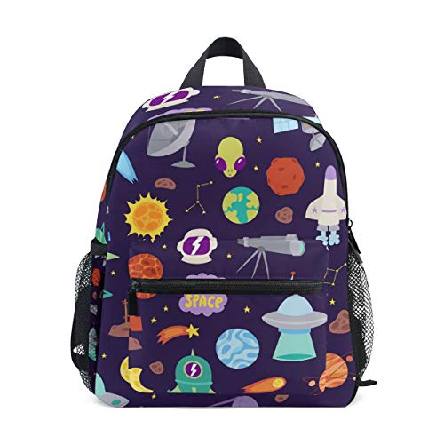SKYDA Mochila para la escuela, adolescentes, niñas, niños, bolsa de viaje con estampado de...