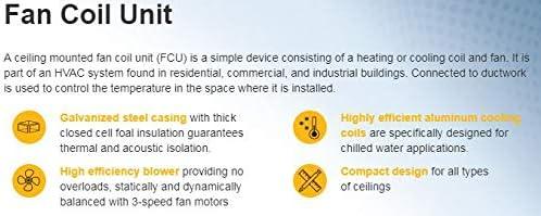 VTS FAN COIL UNIT DCT-(M)-024-WC: Amazon com: VTSMEA