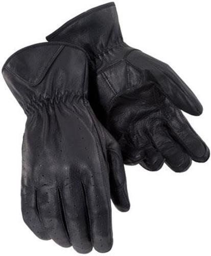 Tourmaster Womens Select Summer Motorcycle Gloves Black Small S