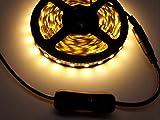 TronicsPros 2pcs LED Strip Light Inline On/Off