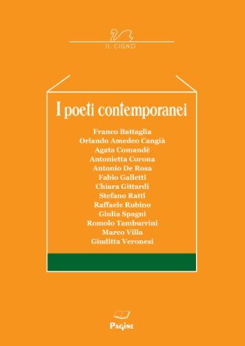 I Poeti Contemporanei 36 (Italian Edition)