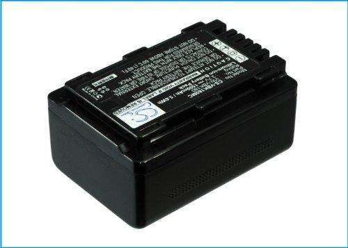 VINTRONS 1500mAh 交換用バッテリー パナソニック HC-V10 HC-V100EG-W用   B017PDFG58