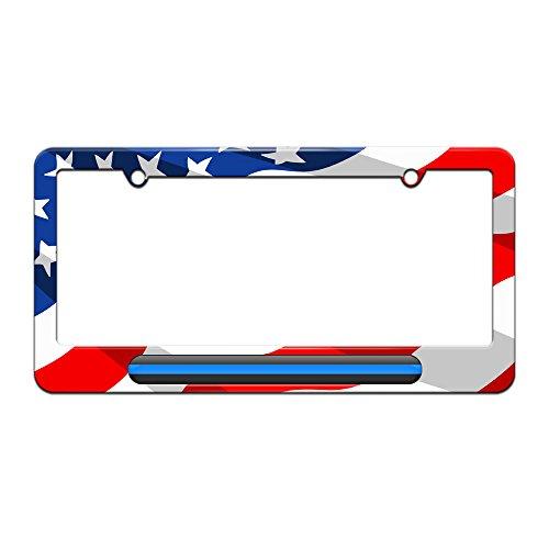 Thin Blue Line License American