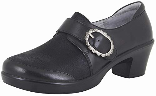 Alegria Womens Holli Clog, Black Burnish, Size 35 EU (5-5.5 M US Women)