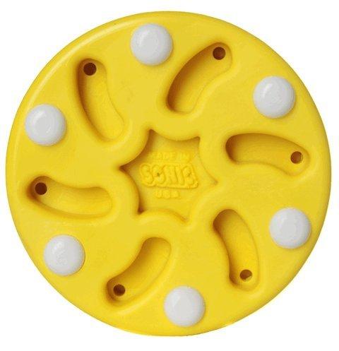 Sonic Inline Roller Hockey Puck, Yellow