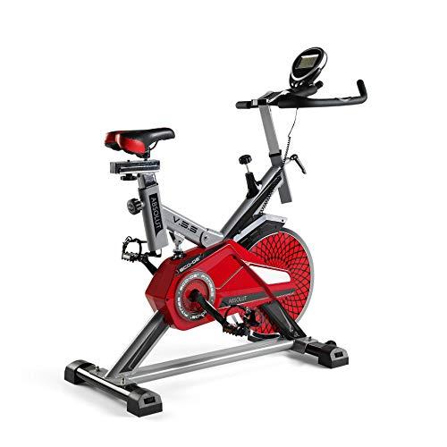 🥇 ECO-DE Bicicleta Spinning Absolut. Uso semiprofesional con pulsómetro