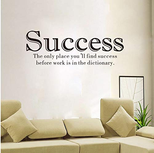 alasijia Letter Wall Sticker Success Slogan Decorative Painting Bedroomliving Room Tv Wall Decoration Wall Stickers Mural (Best Slogan For Success)