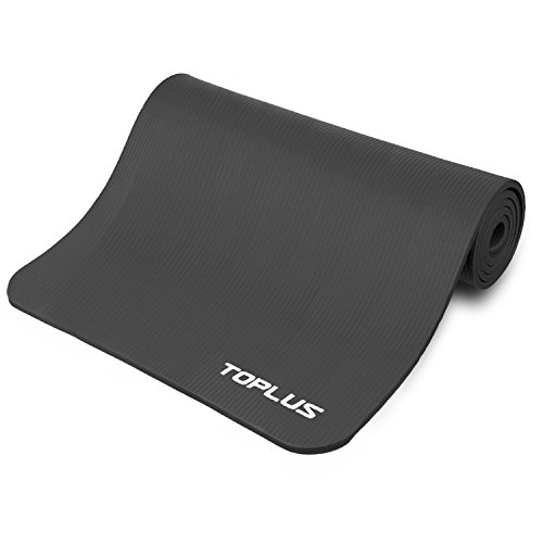 Toplus 1/2-Inch Extra Thick Exercise Yoga Mat With