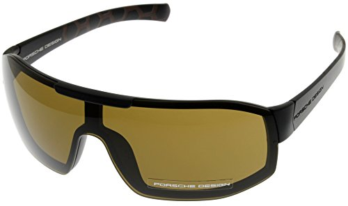Porsche Design Sunglasses Black Unisex P8527 D Wrap by Porsche Design