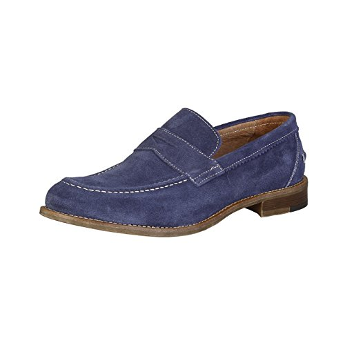 Made in Italia - LAPO Mocassins Homme Glisser Sur Penny Loafer Chaussures