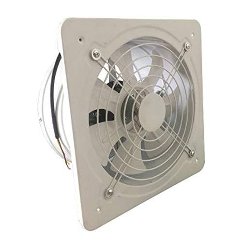 8Eninise Extractor de ventilaci/ón Industrial Extractor axial de Metal Ventilador Comercial Ventilador Blanco 4 Pulgadas