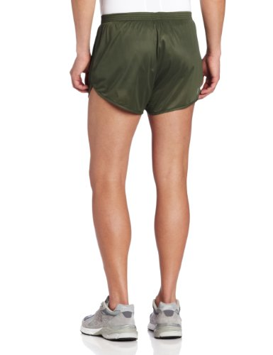 Soffe Men's Ranger Panty Running Short,Od Green,Small