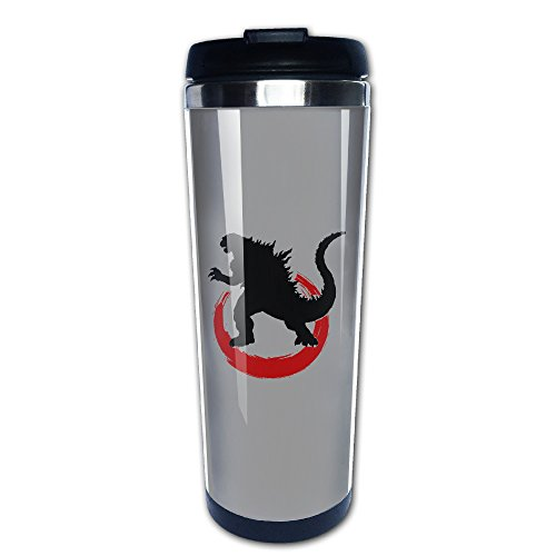2016 Movie GODZILLA Resurgence Travel Thermos Stainless Steel Coffee Cup (Godzilla Coffee Cup compare prices)