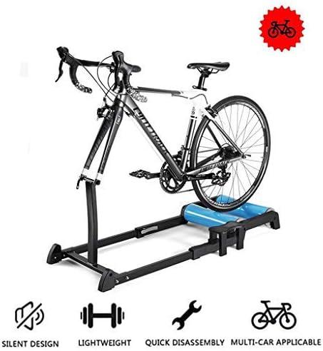 YYDE Bicicleta Trainer Soporte El Soporte Plegable de Bicicleta ...