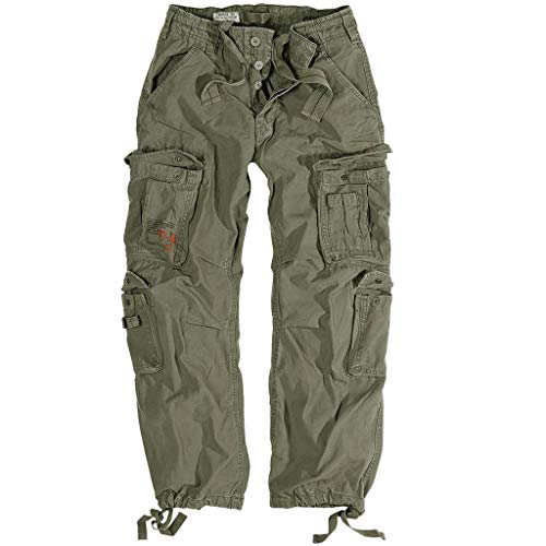 Surplus Airborne Vintage Trousers Olive size 3XL 32' Inseam Trouser Pant