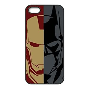 Lucky Iron Man and Batman Cell For HTC One M8 Phone Case Cover