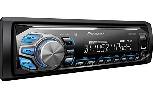 pioneer bluetooth car stereo. amazon.com: pioneer mvh-x360bt mp3/usb all digital mechless car stereo receiver with bluetooth, mixtrax, siri \ bluetooth o