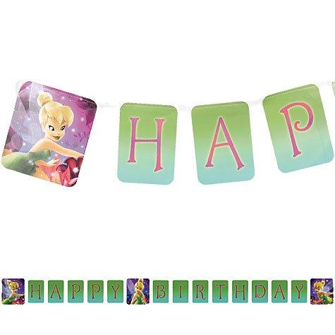 Disney Fairies 'Tinker Bell' Happy Birthday Banner ()