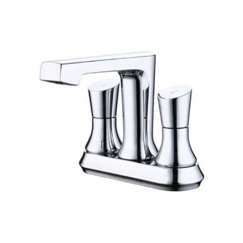 Yosemite Home Decor YP9312-PC Two Handle Centerset Lavatory Faucet, (Style Centerset Faucet)