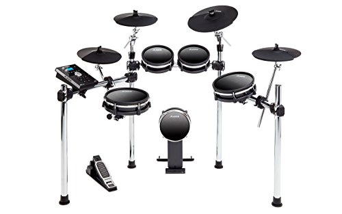 Alesis DM10 MKII Studio Kit | Nine-Piece Electronic Drum Kit with Mesh Heads by Alesis