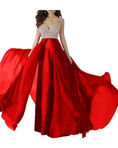 Promgirl House - Robe - Trapèze - Femme rouge rot