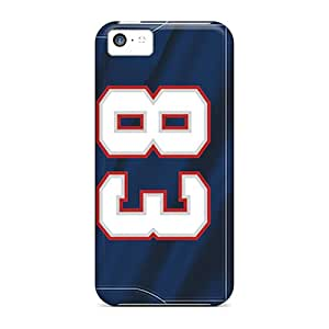 Excellent Hard Phone Cases For Iphone 5c (uLX18877DUhB) Allow Personal Design Fashion New England Patriots Image
