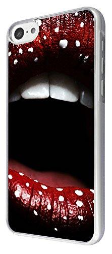 741 - Cool Fun Hot Sexy Lips Design iphone 5C Coque Fashion Trend Case Coque Protection Cover plastique et métal