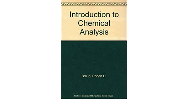 rd brown analytical chemistry book