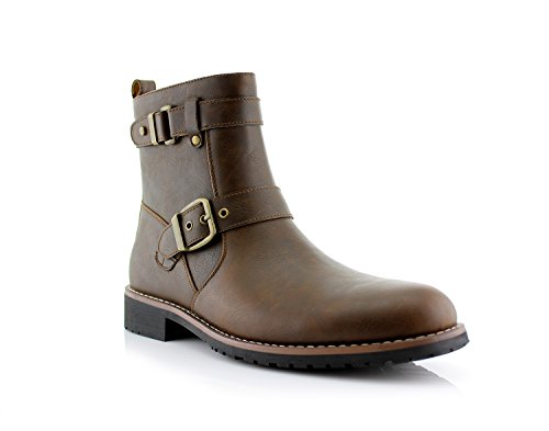 Mens Motorcycle Boots Fashion - 2