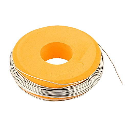 (FidgetKute Nichrome 80 Round Wire 0.5mm 24 Gauge AWG 25ft Roll 1.75 Ohms/ft Heater)