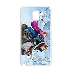 SVF Attractive Disney Frozen Design Best Seller High Quality Phone Case For Samsung Galacxy Note 4