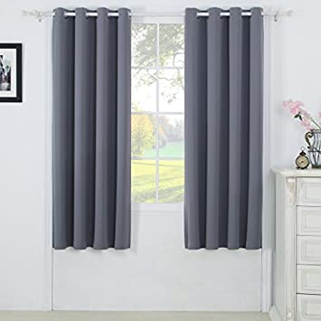 Best Dreamcity Bedroom Blackout Curtain Panels   Window Treatment Thermal  Insulated Solid Grommet Blackout For Living