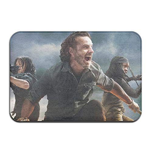 Qmad The Walking Dead Season 8 Characters Non-Slip Decorative Doormat for Patio -  Qmad Co.Ltd, QMA-Doormat-72253382-White-48