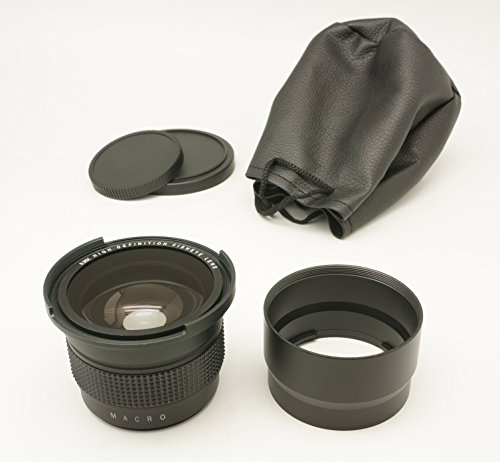 Gadget Place 0.35x High Definition Fisheye Lens with Macro for Canon PowerShot G12 G11 G10 by Gadget Place