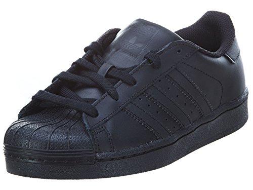 Price comparison product image adidas Originals Superstar C Basketball Shoe (Little Kid),Black/Black/Black,3 M US Little Kid