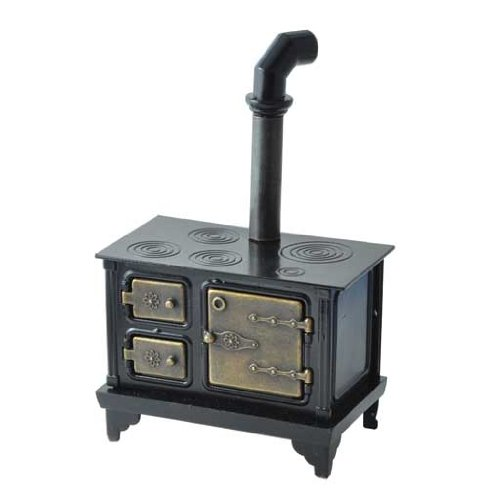 Aztec Imports, Inc. Dollhouse Miniature Antique Cast Iron Stove from Aztec Imports, Inc.