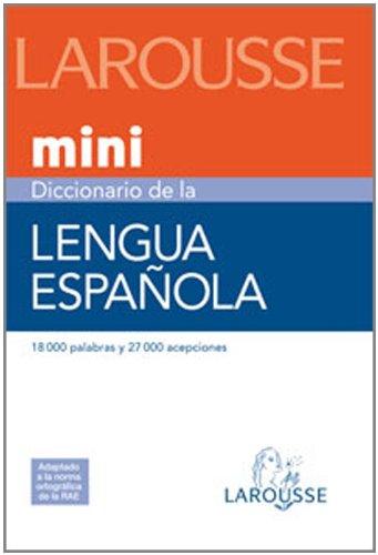 Descargar Libro Diccionario Mini Lengua Española Aa.vv.