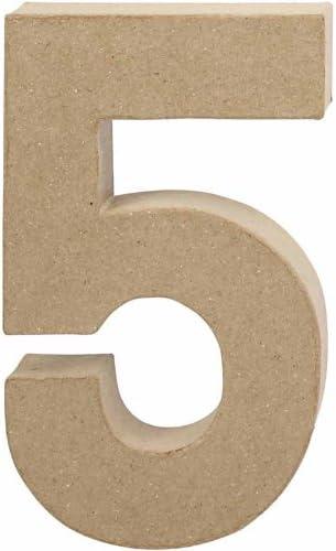 Creativ 20.5 cm 1-Piece Papier Mache Letter K