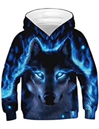 1dc92dc888315 Boys and Girls Popular Hoodies 3D Printed Pullover Hooded Sweatshirts