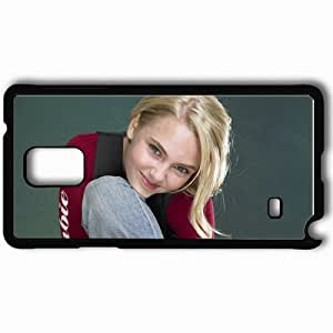 Personalized Samsung Note 4 Cell phone Case/Cover Skin Annasophia Robb Black