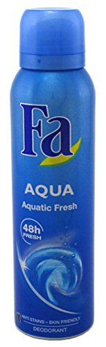 Spray Aqua (Blue) Aquatic Fresh (145ml) (2 Pack) ()