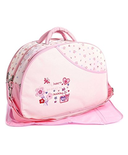 Mummamia Outing Mama Shoulder Diaper Bag, Pink