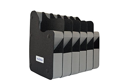 Benchmaster - Weapon Rack - Six (6) Gun Vertical Pistol Rack - Gun Safe Storage Accessories - Gun Rack