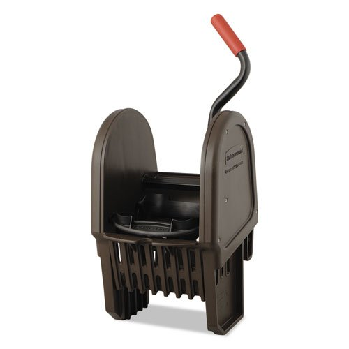 Rubbermaid Commercial WaveBrake Down-Press Wringer, Brown - Includes one each.