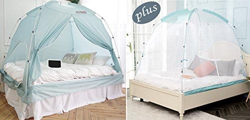 - BESTEN Indoor Tent & Mosquito Net Package (Mint, Twin Tent + Mint Net)