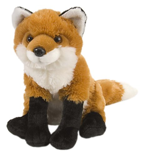 41jHf7HeAOL - Wild Republic Red Fox Plush, Stuffed Animal, Plush Toy, Gifts For Kids, Cuddlekins 12 Inches