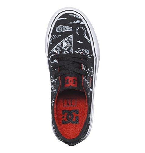 DC Shoes Trase SP - Chaussures - Garçon - US 1 / UK 13 / EU 32 - Noir