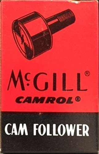 0.438 Socket (McGill CF1 1/8SB Cam Follower, Standard Stud, Sealed/Hex Hole, Inch, Steel, 1-1/8