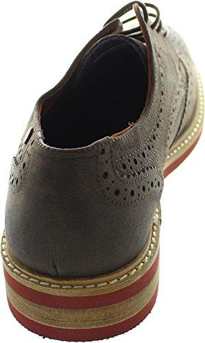 Jack & Jones  Jfw Smart, Chaussures de ville à lacets pour homme marron marron taille unique